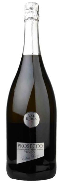 """Val d´Oca """"Silber"""" Prosecco Spumante Extra Dry Treviso DOC MAGNUM 1,5l"""