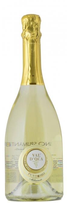 Val d´Oca PUNTO ORO Spumante Bianco Extra dry MILLESIMATO 2015 0,75l
