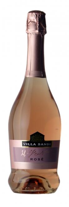 Villa Sandi IL FRESCO Rosato - Rosé Spumante Brut DOC 0,75l