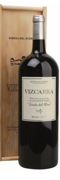 Bodegas Vizcarra Roble SENDA DEL ORO Ribera del Duero D.O. MAGNUM 1,5l